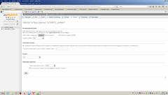 Страница импорта mysql файла