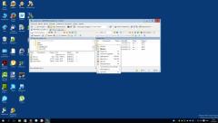 Контекстное меню элемента на сервере в WinSCP