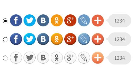 Как увеличить число кликов по социальным кнопкам в 200 раз?